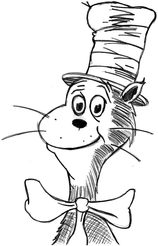 cat in the hat pictures to color coloring pages cat in the hat coloring home cat in the color hat pictures to