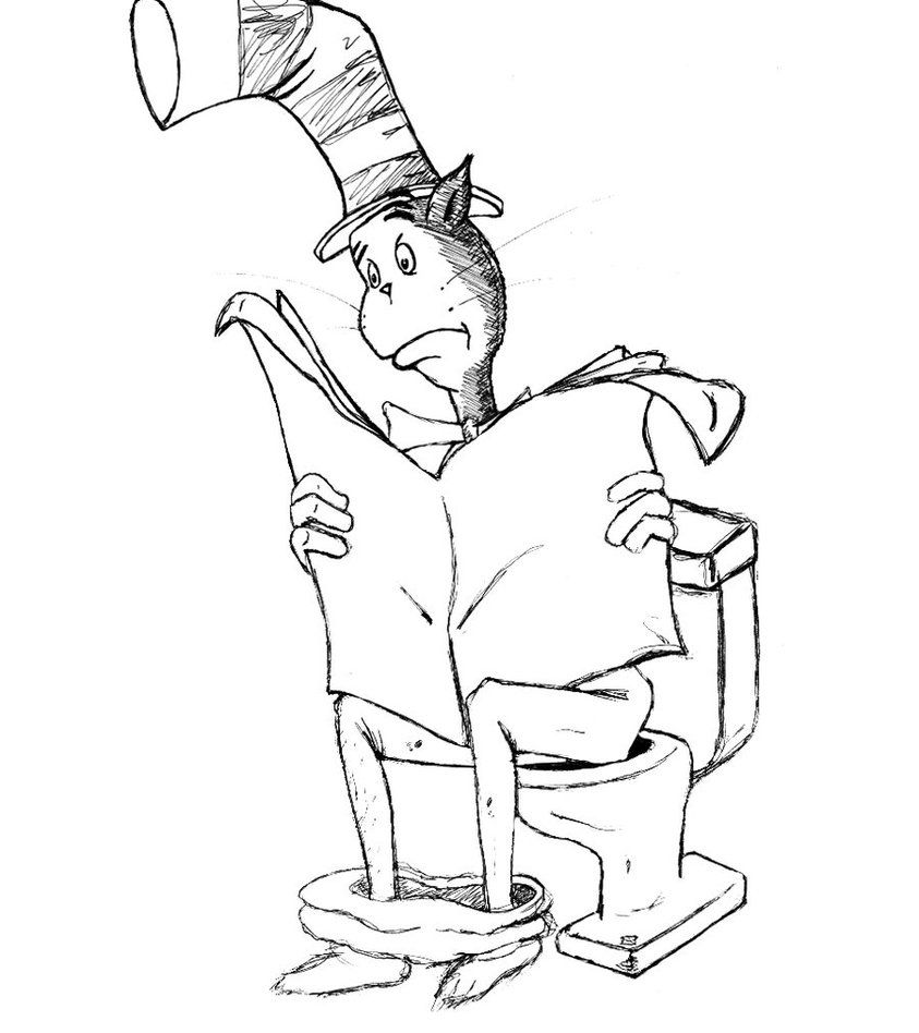 cat in the hat pictures to color free easy to print cat in the hat coloring pages in 2020 in hat to pictures cat the color