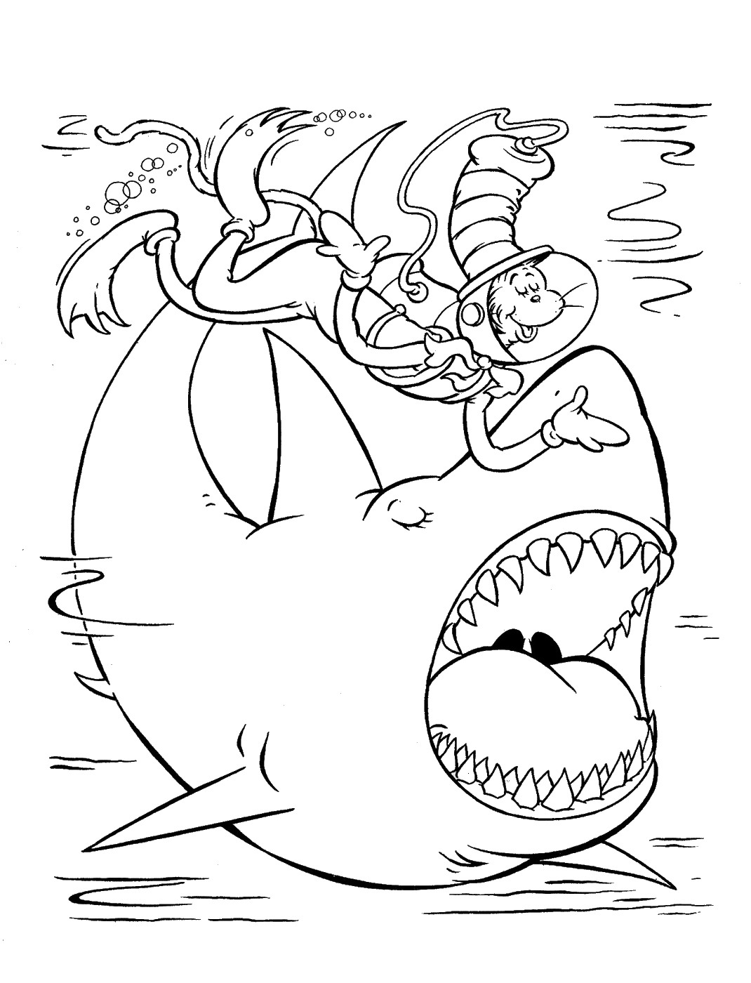 cat in the hat pictures to color free printable cat in the hat coloring pages for kids cat the pictures hat in to color