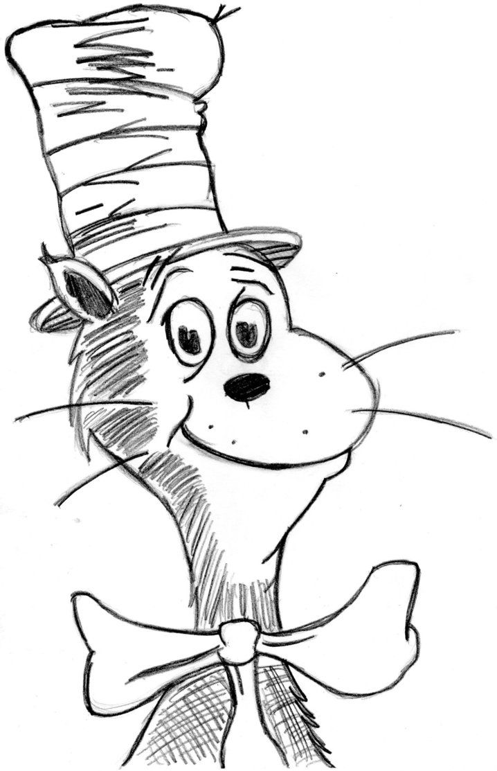 cat in the hat pictures to color free printable cat in the hat coloring pages for kids color hat pictures the in cat to