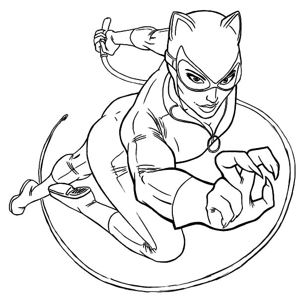 catwoman colouring pages catwoman by dontborninink on deviantart colouring pages catwoman