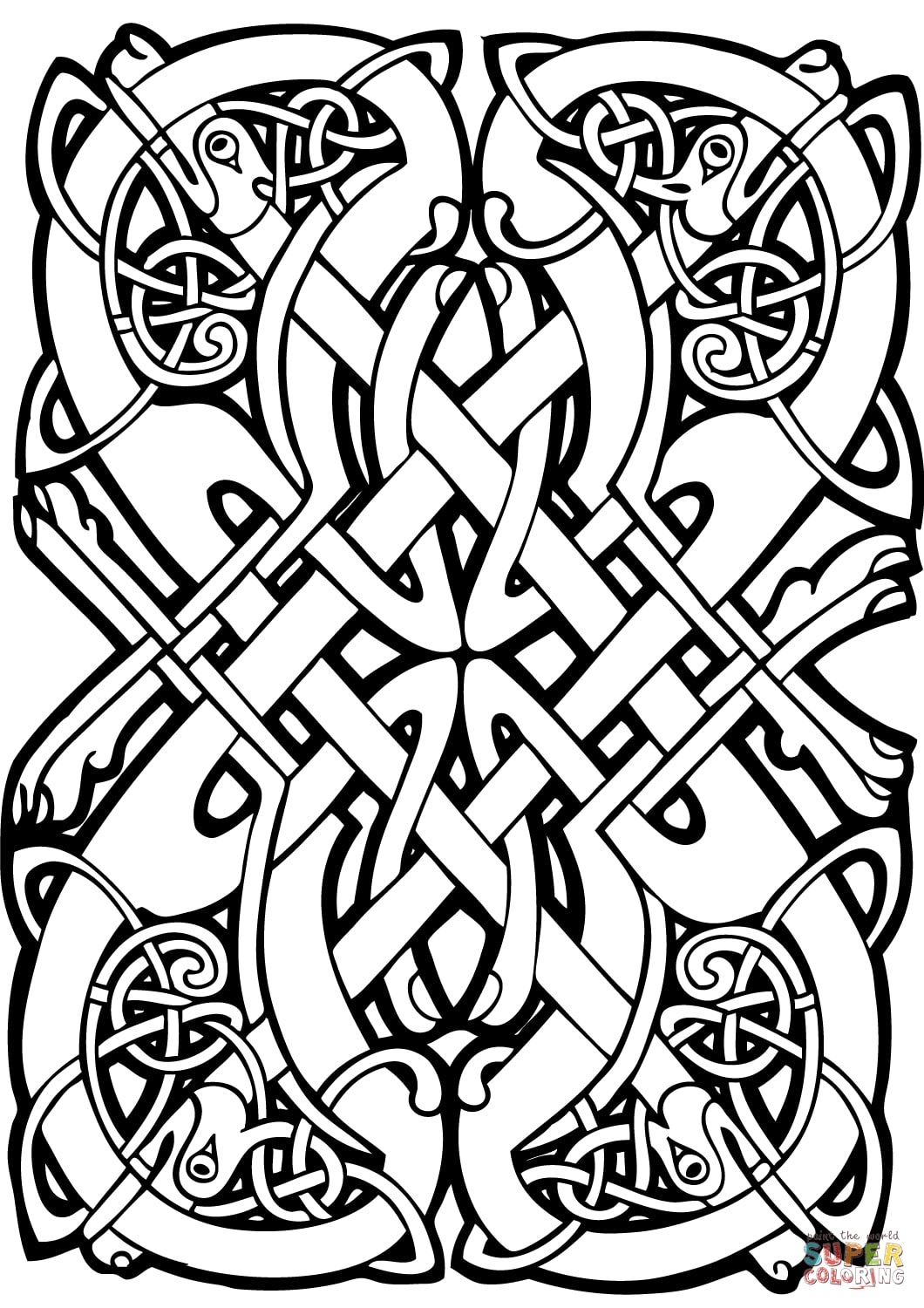 celtic coloring book adult coloring pages celtic knots coloring home celtic coloring book