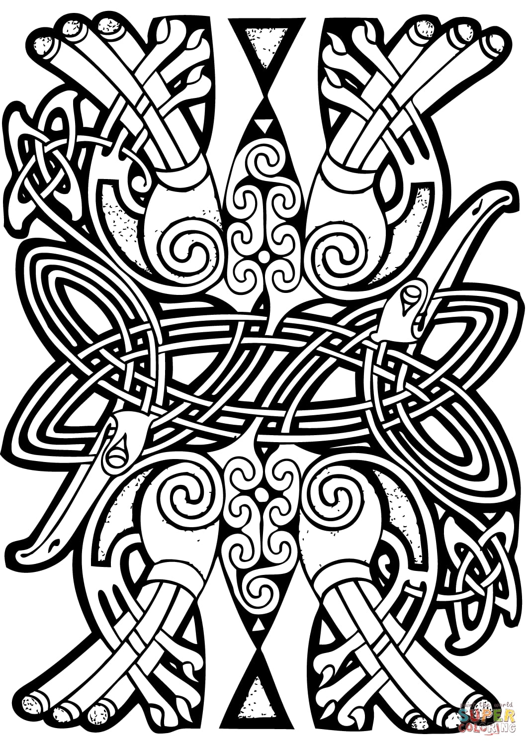 celtic coloring book celtic vector colouring book by ikue on deviantart book celtic coloring
