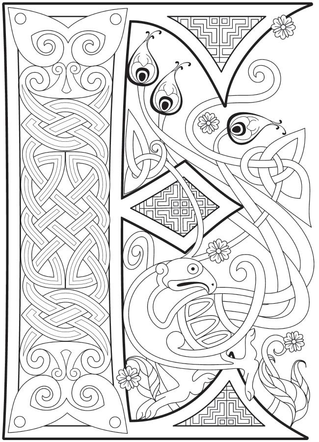 celtic coloring book welcome to dover publications ch celtic alphabet coloring celtic book