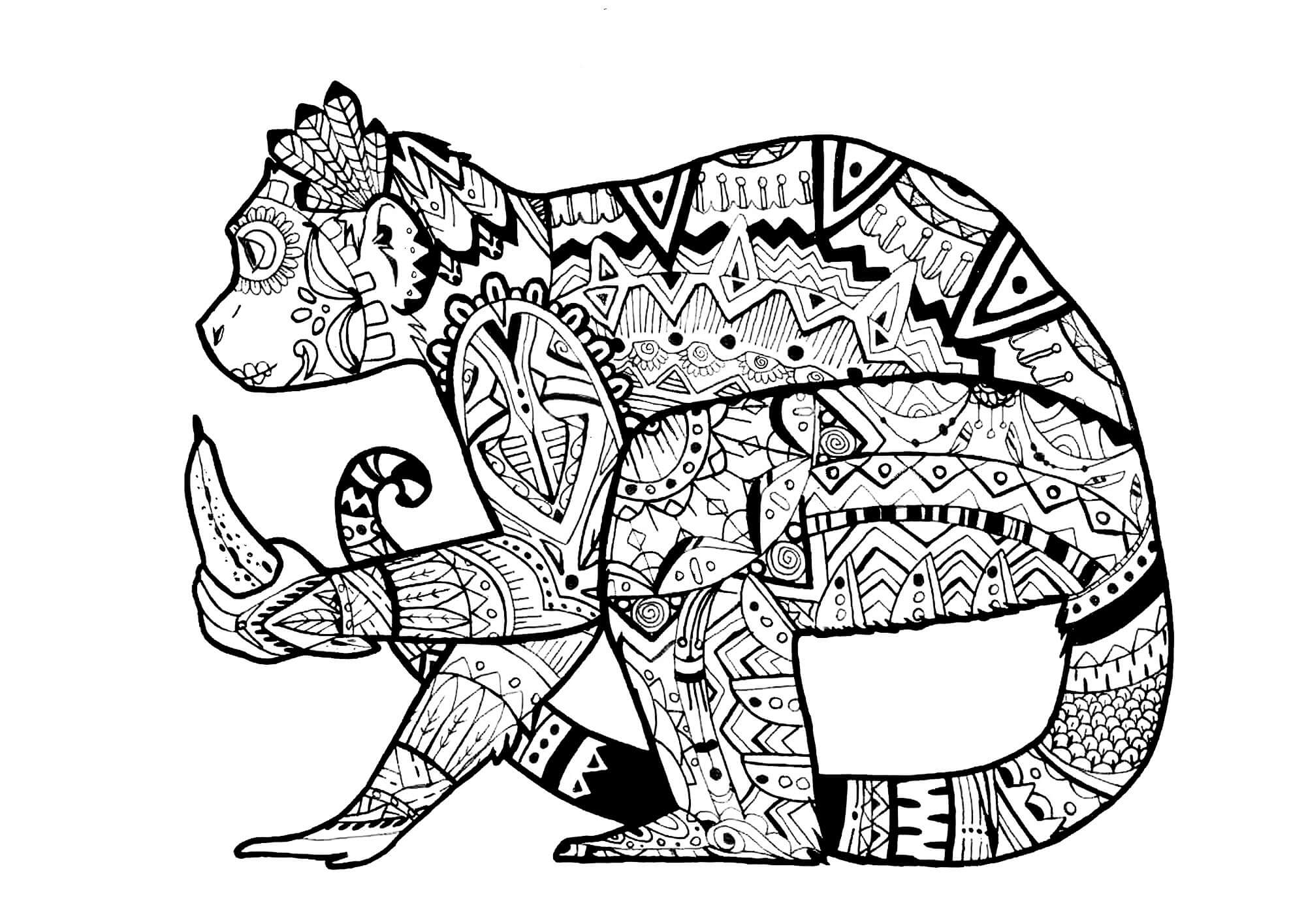 challenging coloring sheets adult difficult cameleon coloring pages printable coloring challenging sheets