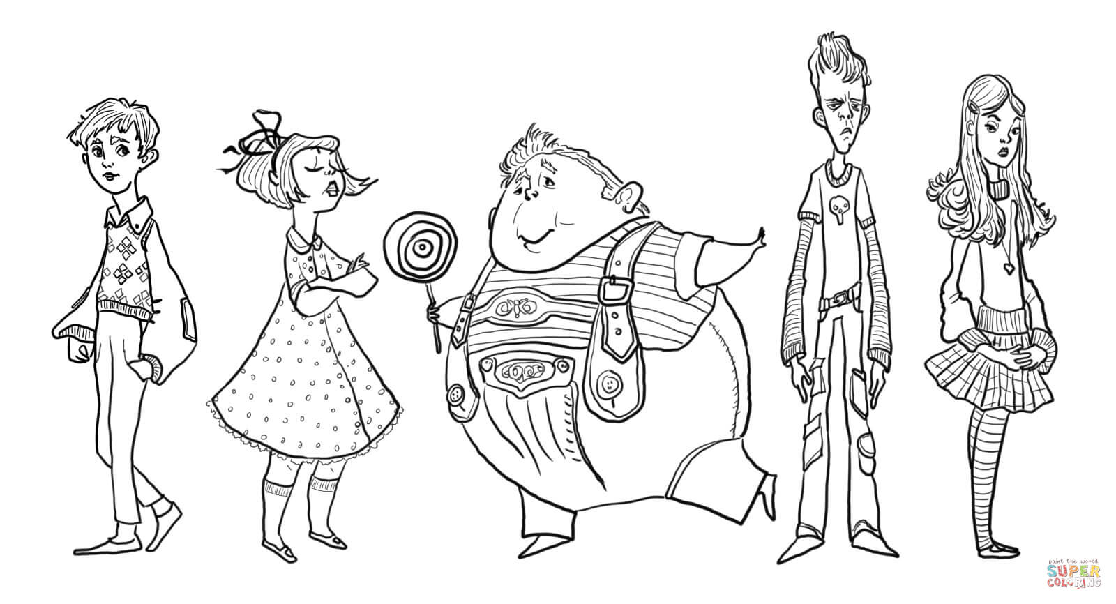 charlie and the chocolate factory coloring sheets kleurplaten charlie and the chocolate factory kleurplaat coloring sheets the and charlie chocolate factory