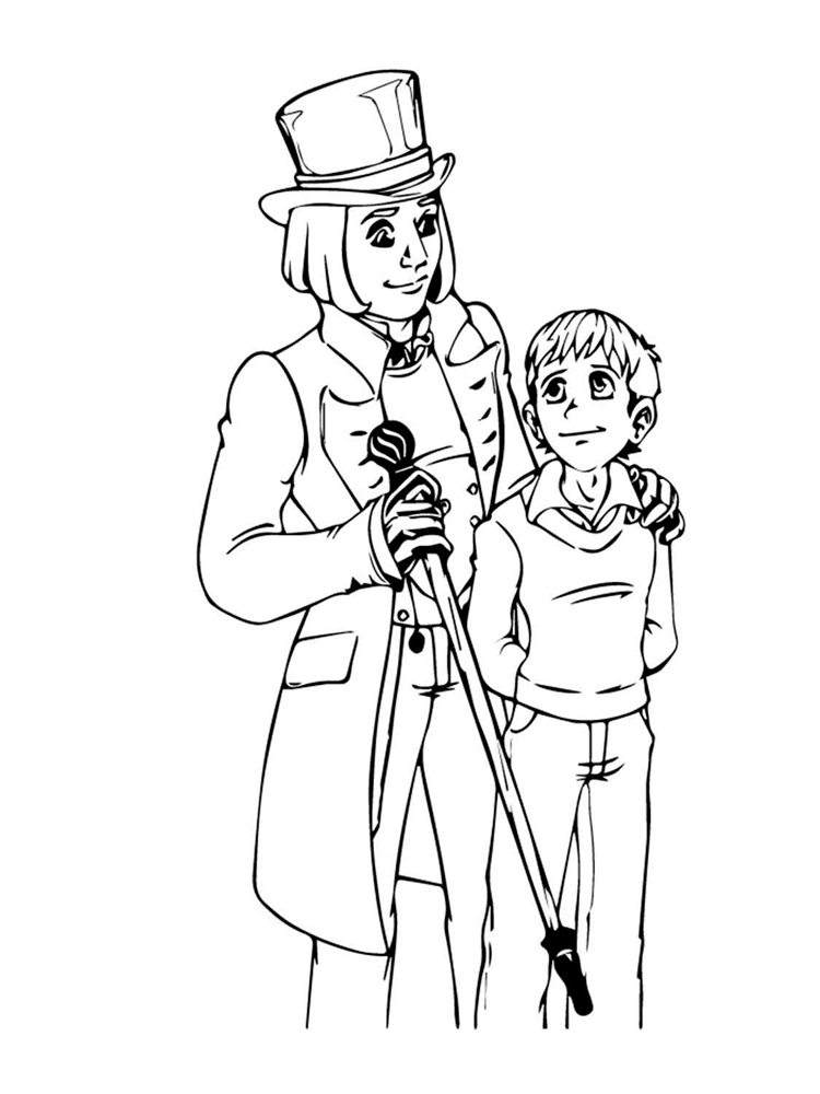 charlie and the chocolate factory pictures to print charlie and the chocolate factory coloring pages free and to chocolate charlie the pictures factory print
