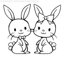 chibi bunny coloring pages 141 best yampuff images chibi kawaii drawings anime art bunny pages coloring chibi