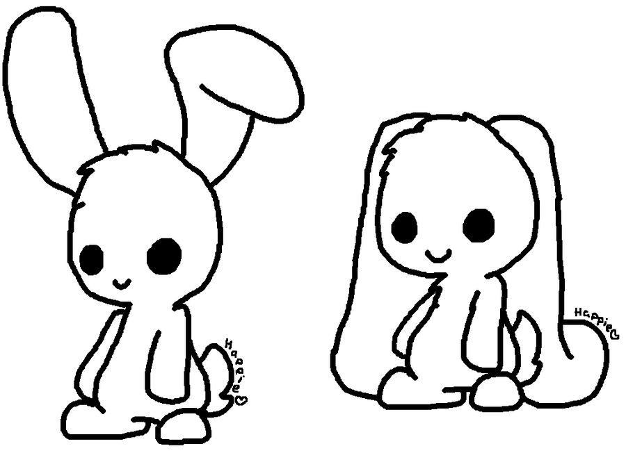 chibi bunny coloring pages chibis free chibi coloring pages yampuff39s stuff pages chibi coloring bunny