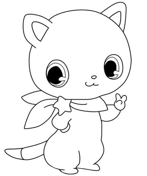 chibi bunny coloring pages perfect jewelpet nikk coloring page in 2020 chibi chibi bunny pages coloring