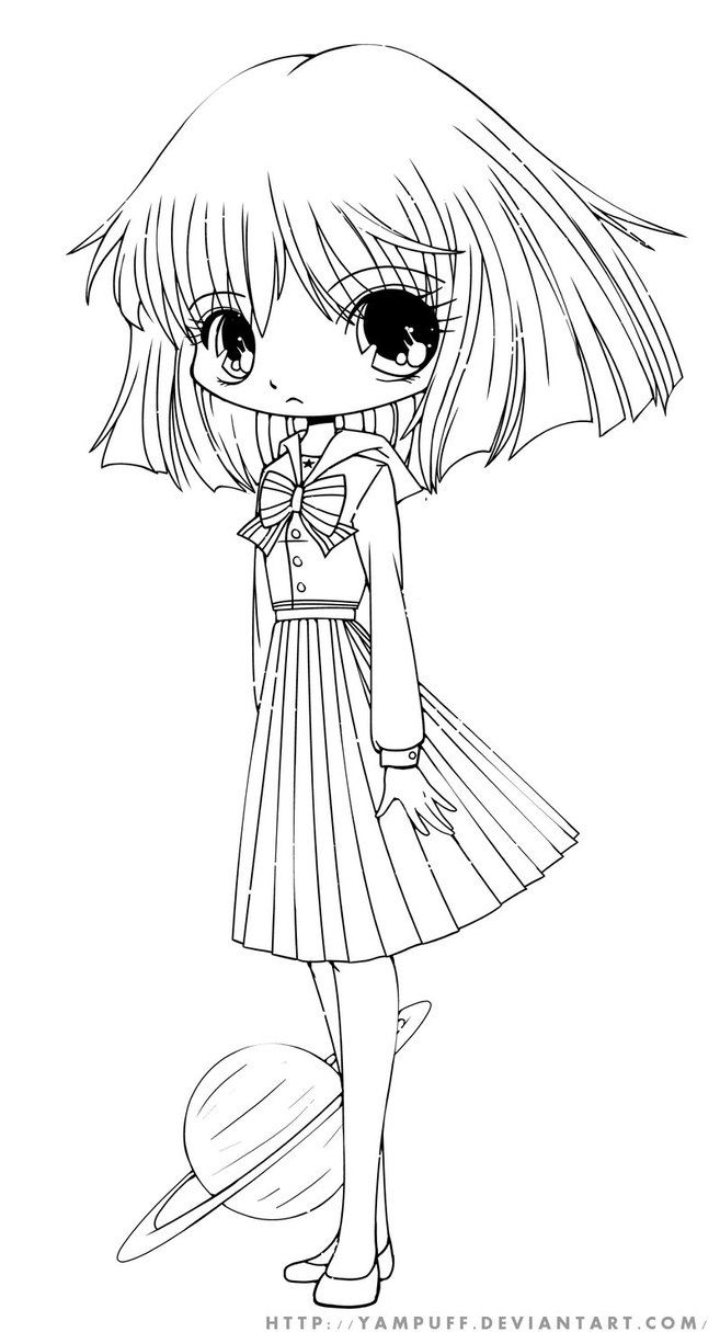 chibi girls coloring pages get this free printable chibi coloring pages for kids hakt6 coloring girls chibi pages