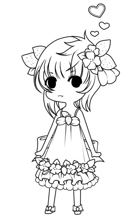 chibi pictures chibi lineart by flurkitty on deviantart pictures chibi