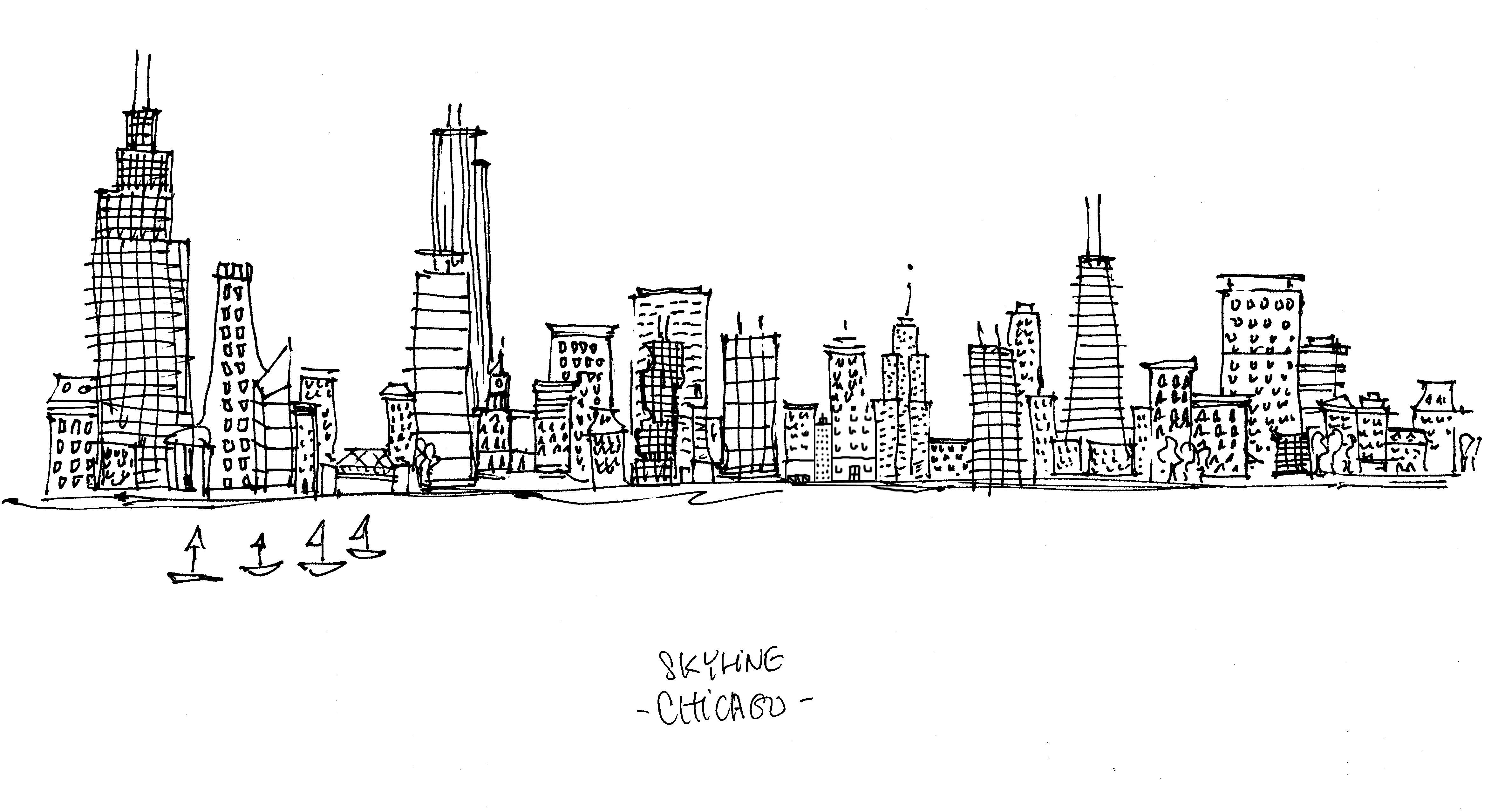 chicago skyline coloring page chicago skyline coloring page coloring skyline page chicago
