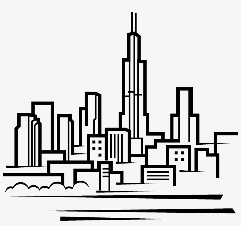 chicago skyline coloring page chicago skyline coloring page skyline page coloring chicago