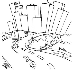 chicago skyline coloring page chicago skyline drawing free download on clipartmag page skyline chicago coloring