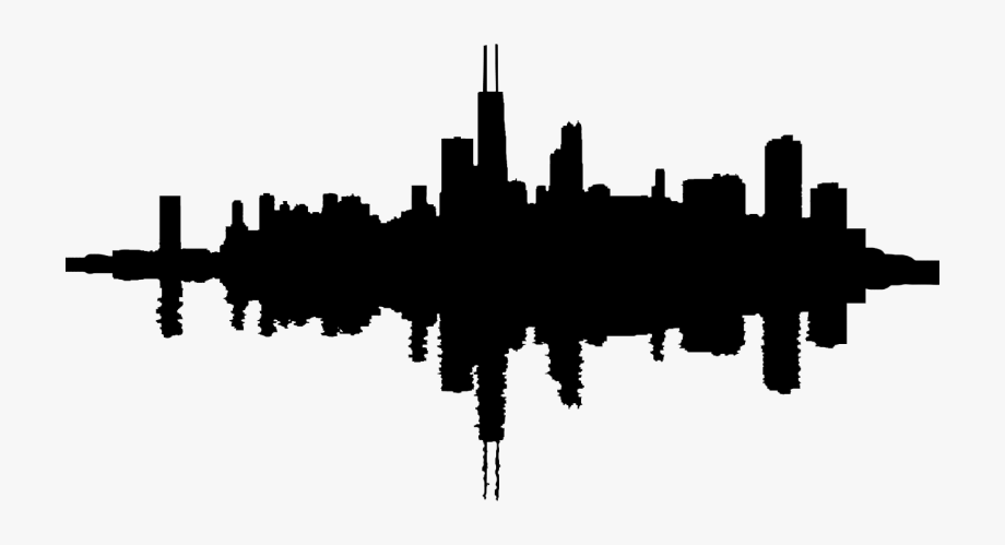 chicago skyline coloring page chicago skyline silhouette chicago skyline silhouette coloring skyline chicago page