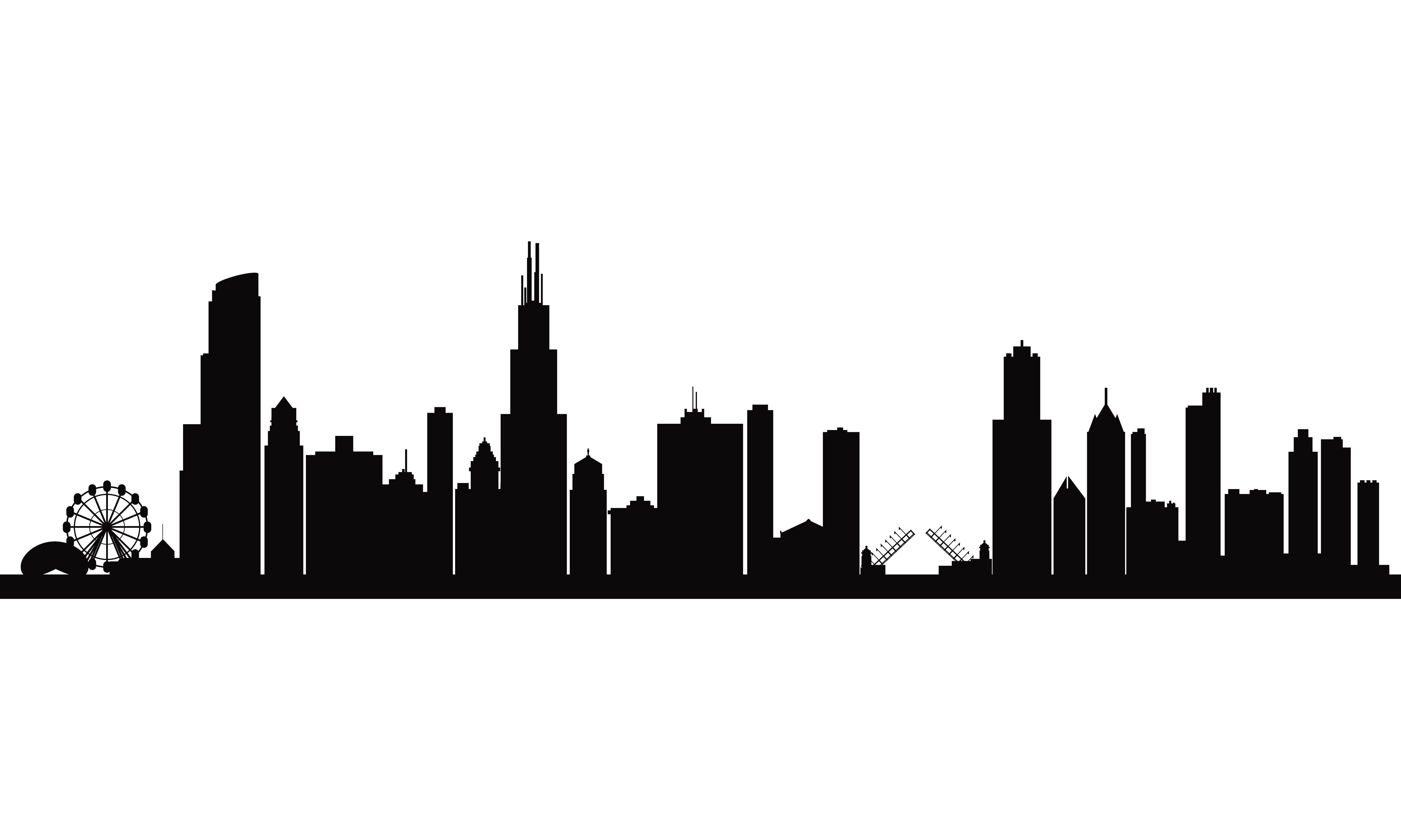 chicago skyline coloring page city skyline of chicago illinois liked on polyvore page skyline coloring chicago
