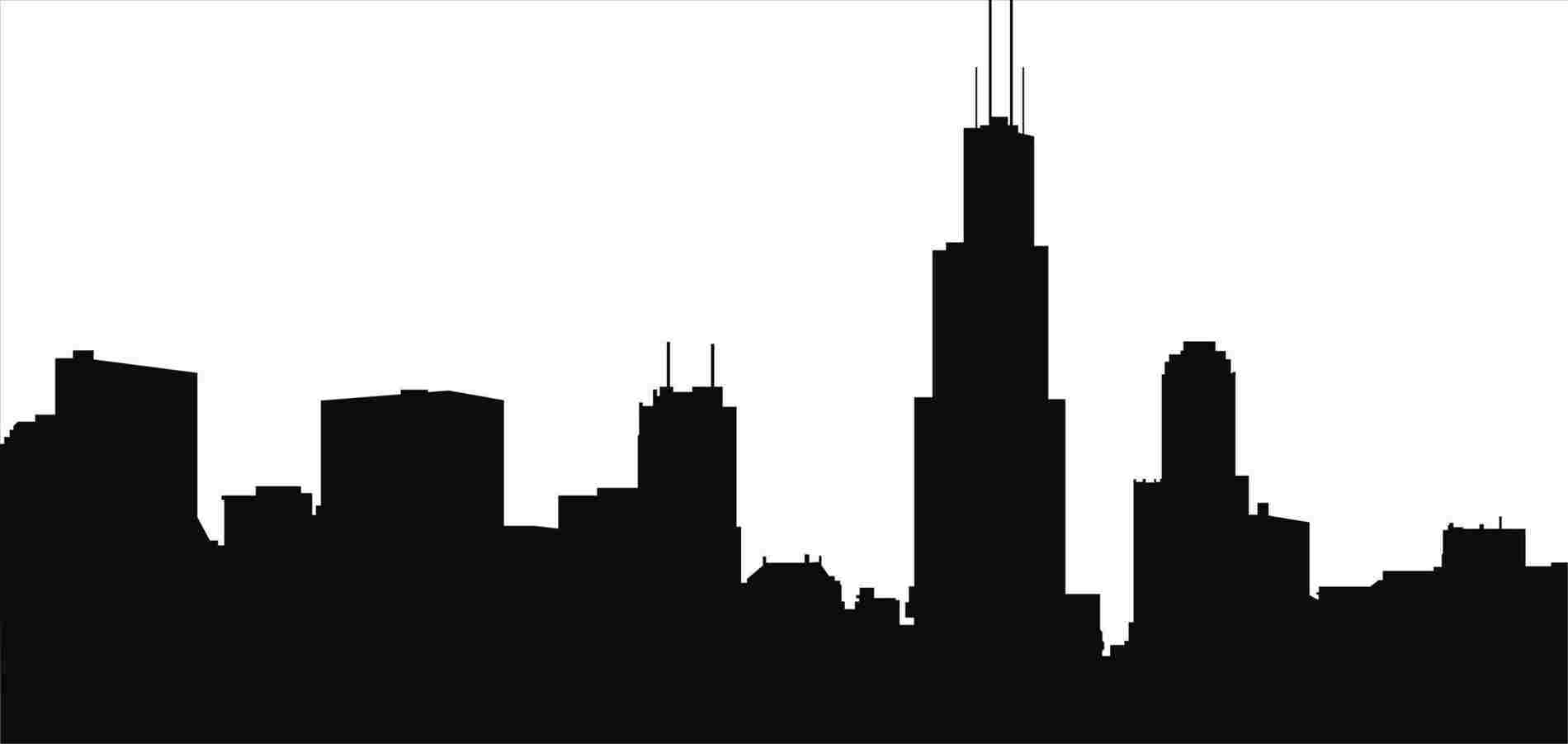 chicago skyline coloring page malvorlage willis tower usa willis tower willis tower chicago coloring page skyline