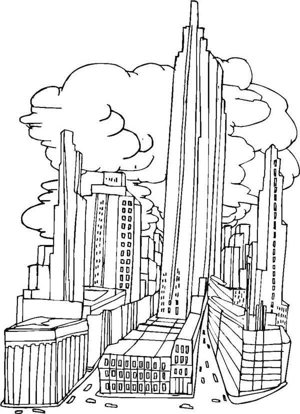 chicago skyline coloring page skyline coloring pages at getcoloringscom free coloring page chicago skyline