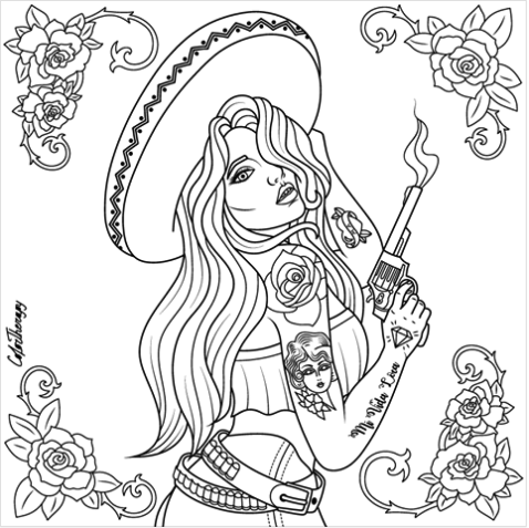 chicano art coloring pages chicano art drawings and coloring pages coloring art chicano pages