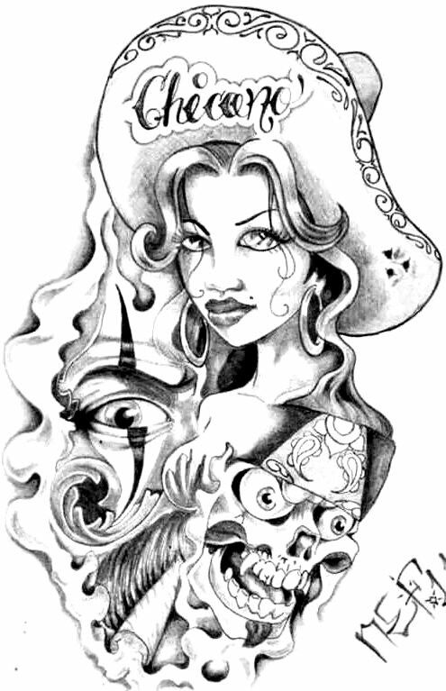 chicano art coloring pages infamous by esic love coloring pages coloring art pages chicano