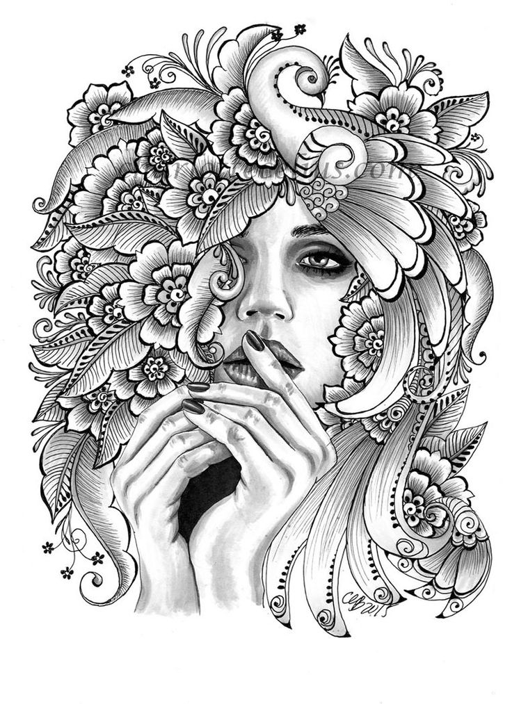 chicano art coloring pages jolies filles skate et tatouages 16 pin ups de mike coloring art chicano pages