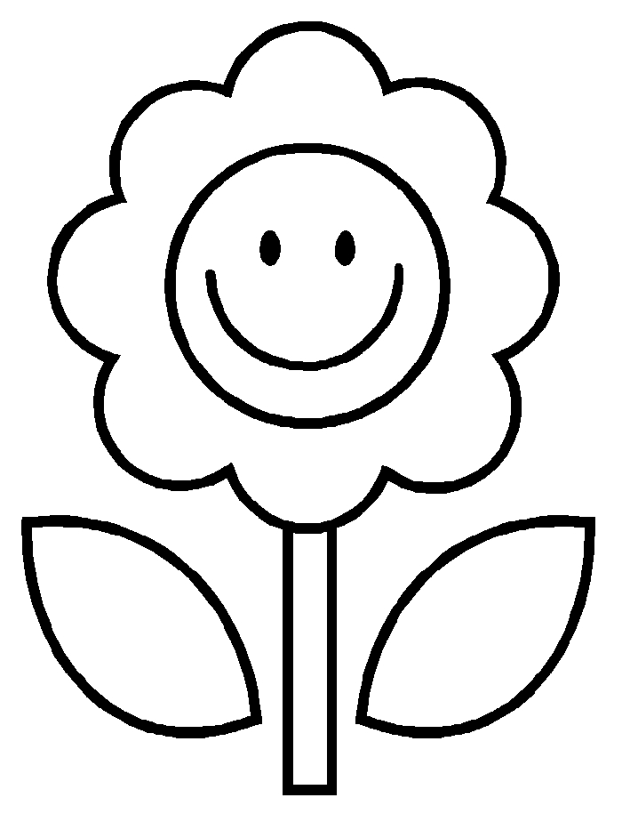 childrens coloring pages flowers flower printouts coloring home flowers coloring pages childrens