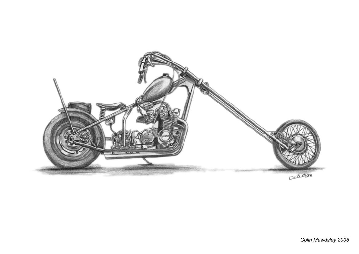 chopper drawing chopper drawing at paintingvalleycom explore collection chopper drawing