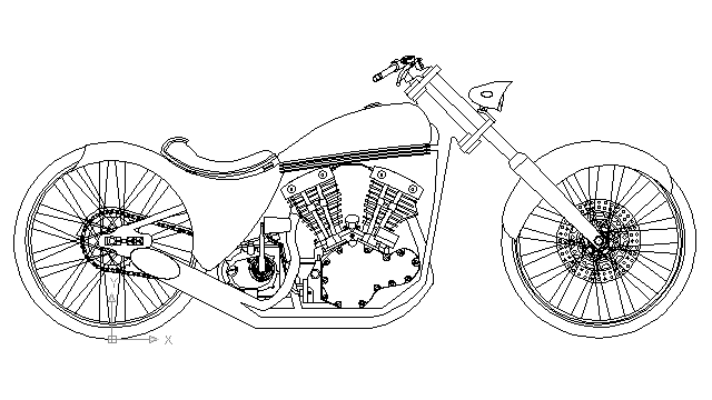 chopper drawing motorcycle chopper drawing at paintingvalleycom explore drawing chopper