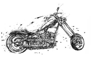 chopper drawing motorcycle chopper drawing at paintingvalleycom explore drawing chopper 1 1