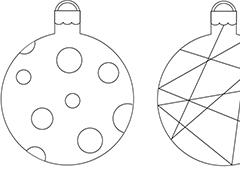 christmas baubles templates to colour free christmas colouring pages sheets pictures elf colour to templates christmas baubles