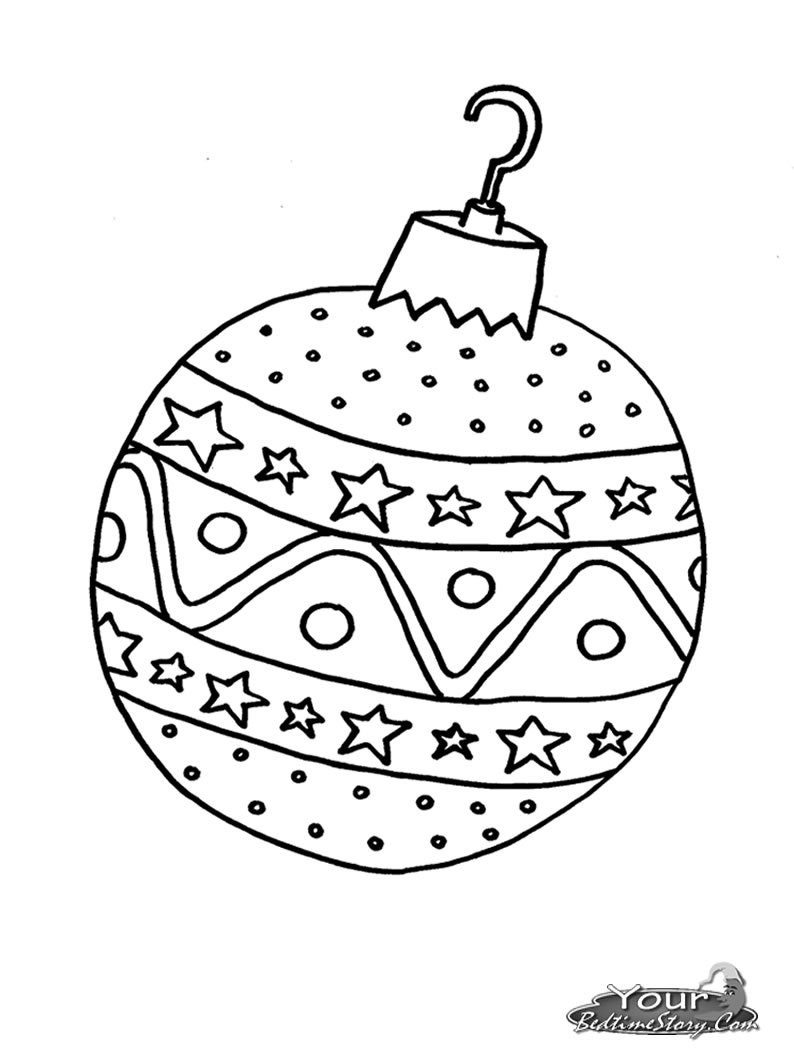 christmas baubles to colour in bauble on christmas tree free coloring page for child colour christmas to baubles in