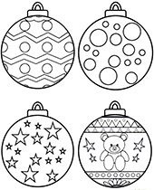 christmas baubles to colour in christmas ornament coloring page christmas coloring to colour baubles in christmas