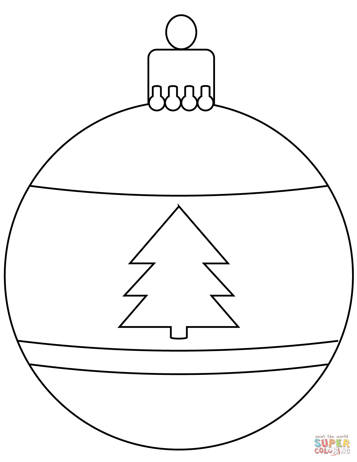 christmas baubles to colour in printable christmas bauble santa to colour rooftop post baubles in christmas colour to