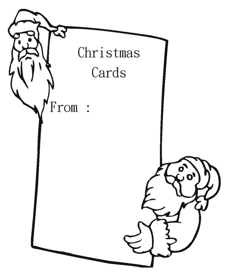 christmas card coloring pages 10 best christmas cards coloring page images on pinterest coloring christmas card pages