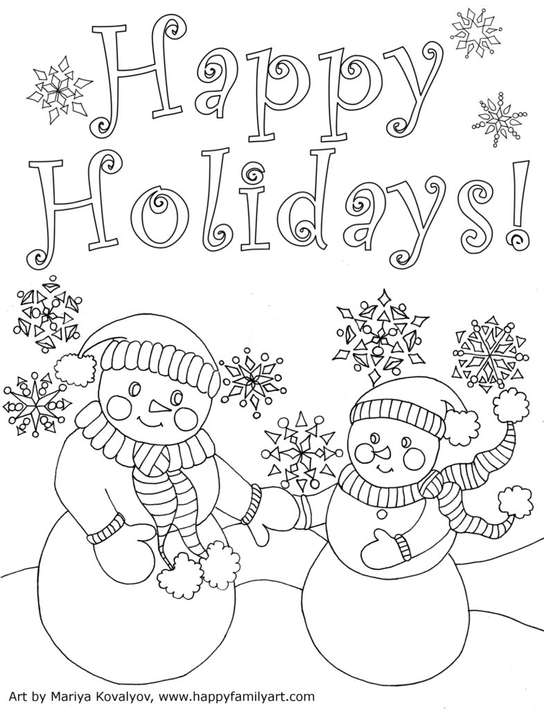 christmas card coloring pages christmascard card pages coloring christmas