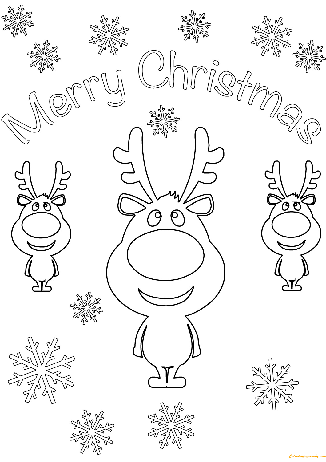 christmas card coloring pages reindeer merry christmas cards coloring page free coloring pages christmas card