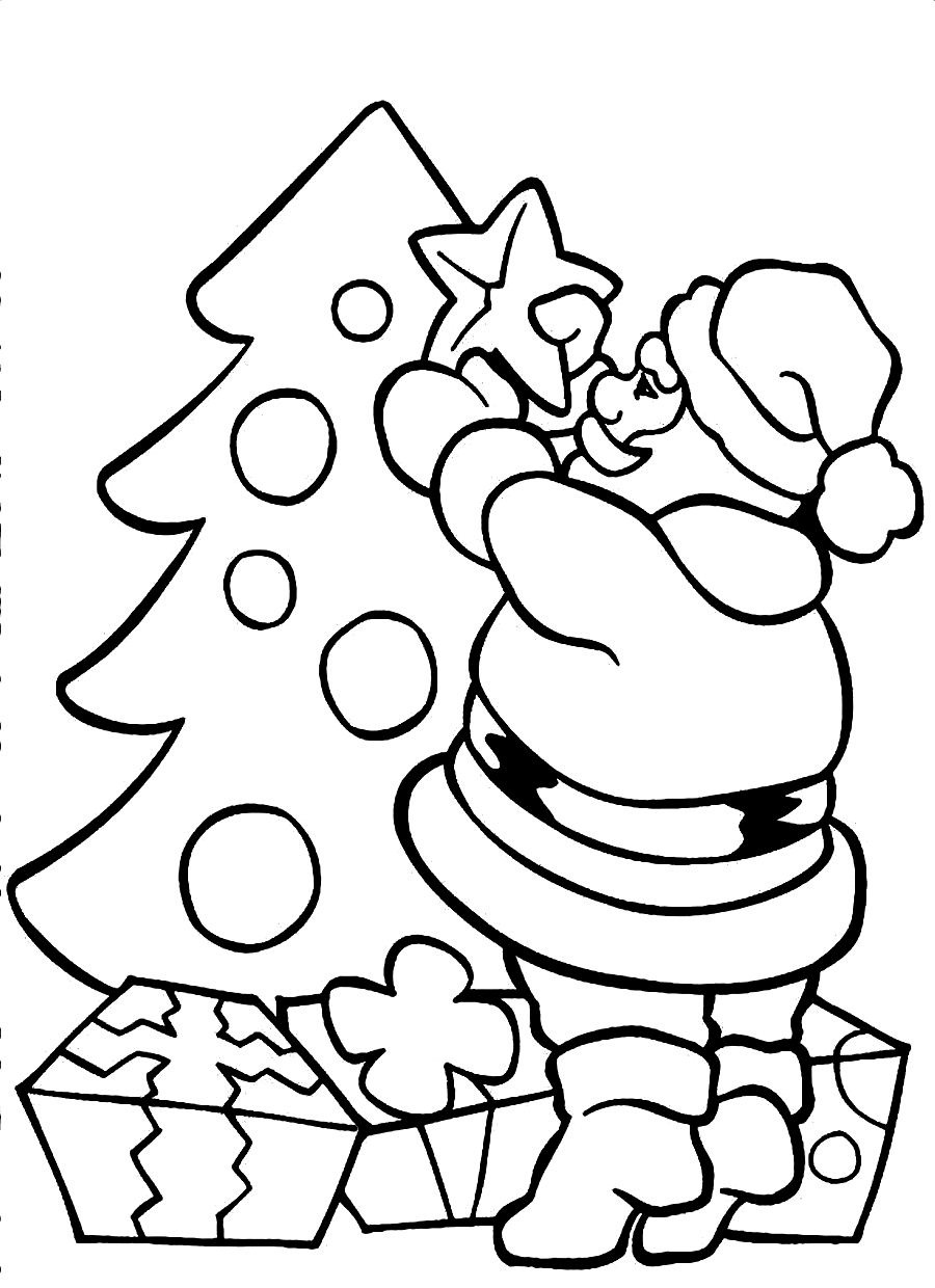 christmas color pages easy christmas coloring pages for kids at getcoloringscom christmas color pages