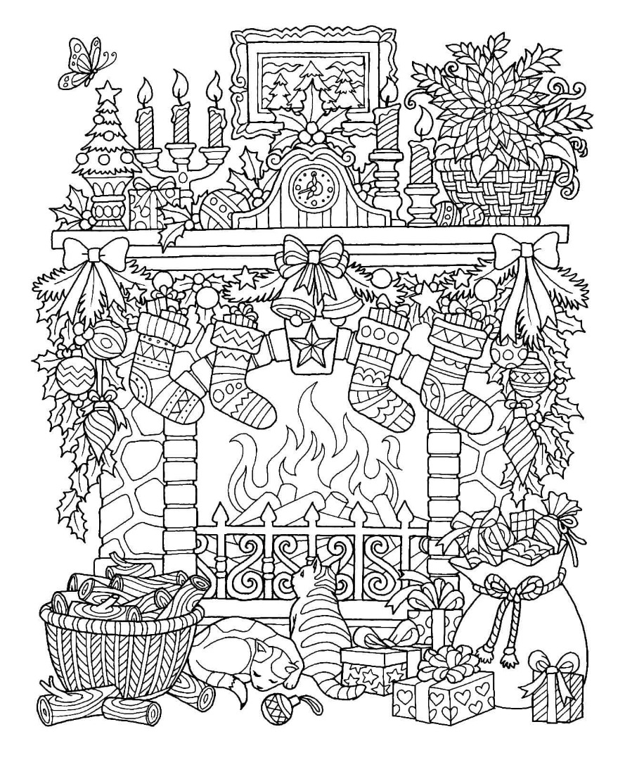 christmas coloring printables easy christmas coloring pages for kids at getcoloringscom printables christmas coloring