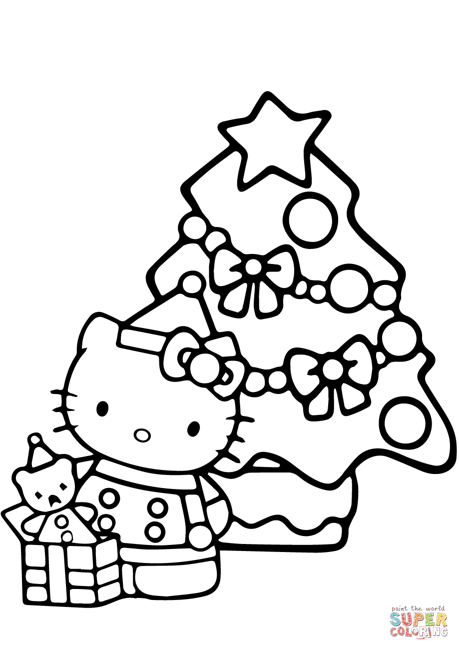 christmas hello kitty coloring pages hello kitty christmas coloring pages cute 101 worksheets hello kitty pages christmas coloring