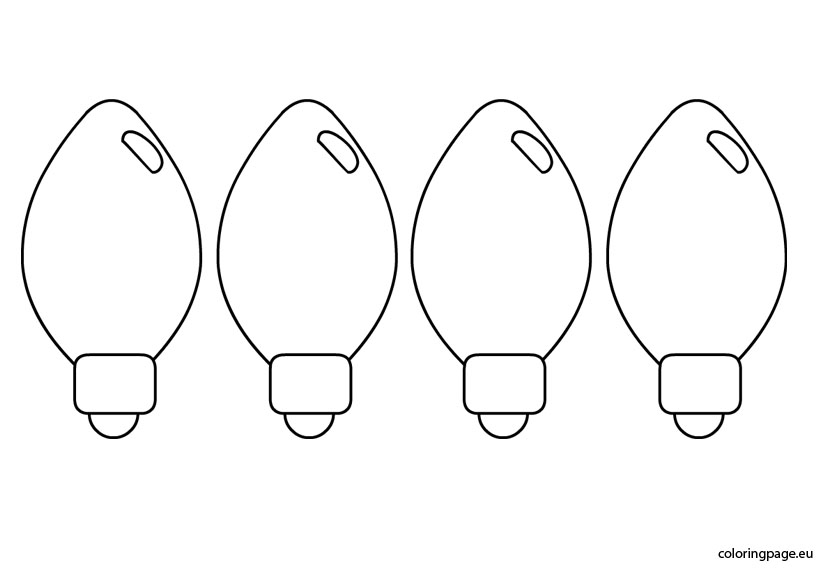christmas lights color pages string lights drawing at getdrawings free download christmas color pages lights
