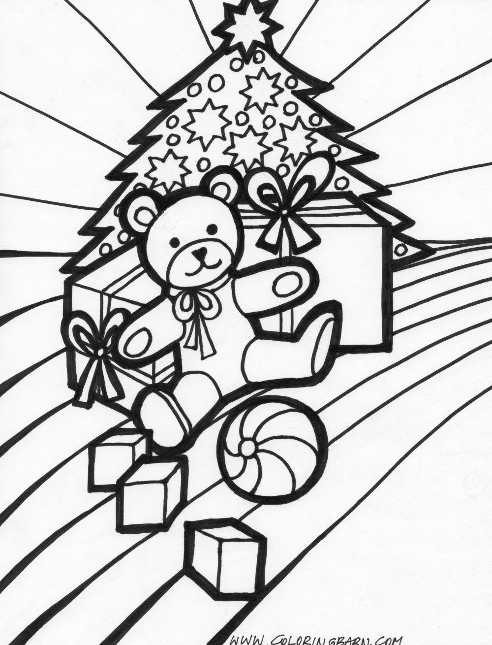christmas present coloring page craftsactvities and worksheets for preschooltoddler and page present coloring christmas