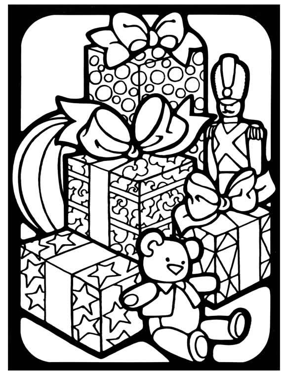 christmas present coloring page jolly christmas coloring pages christmas toys free coloring present page christmas