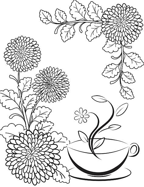 chrysanthemum coloring pages chrysanthemum coloring pages to download and print for free pages coloring chrysanthemum 1 1