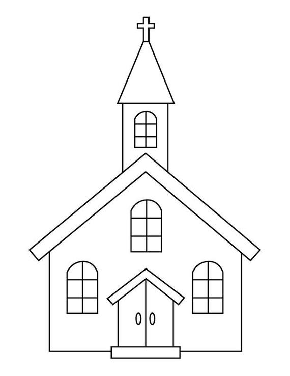 church coloring sheet church coloring page twisty noodle coloring church sheet