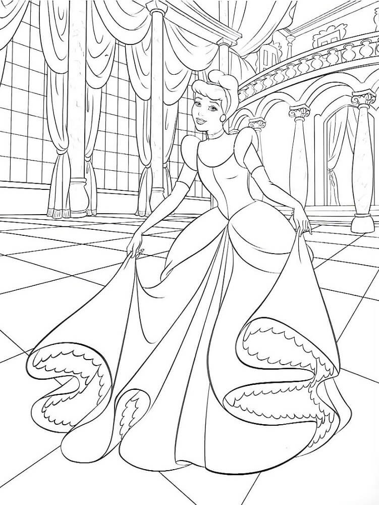 cinderella coloring pages to print print download impressive cinderella coloring pages print pages cinderella to coloring