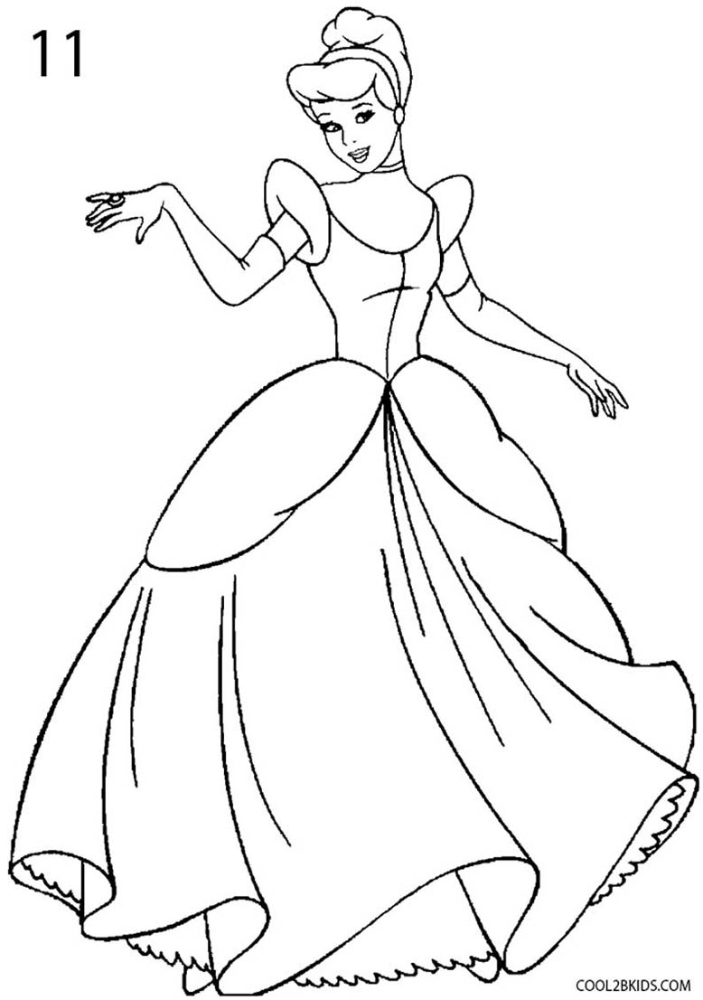 cinderella drawing for coloring cinderella carriage drawing at getdrawings free download coloring for drawing cinderella