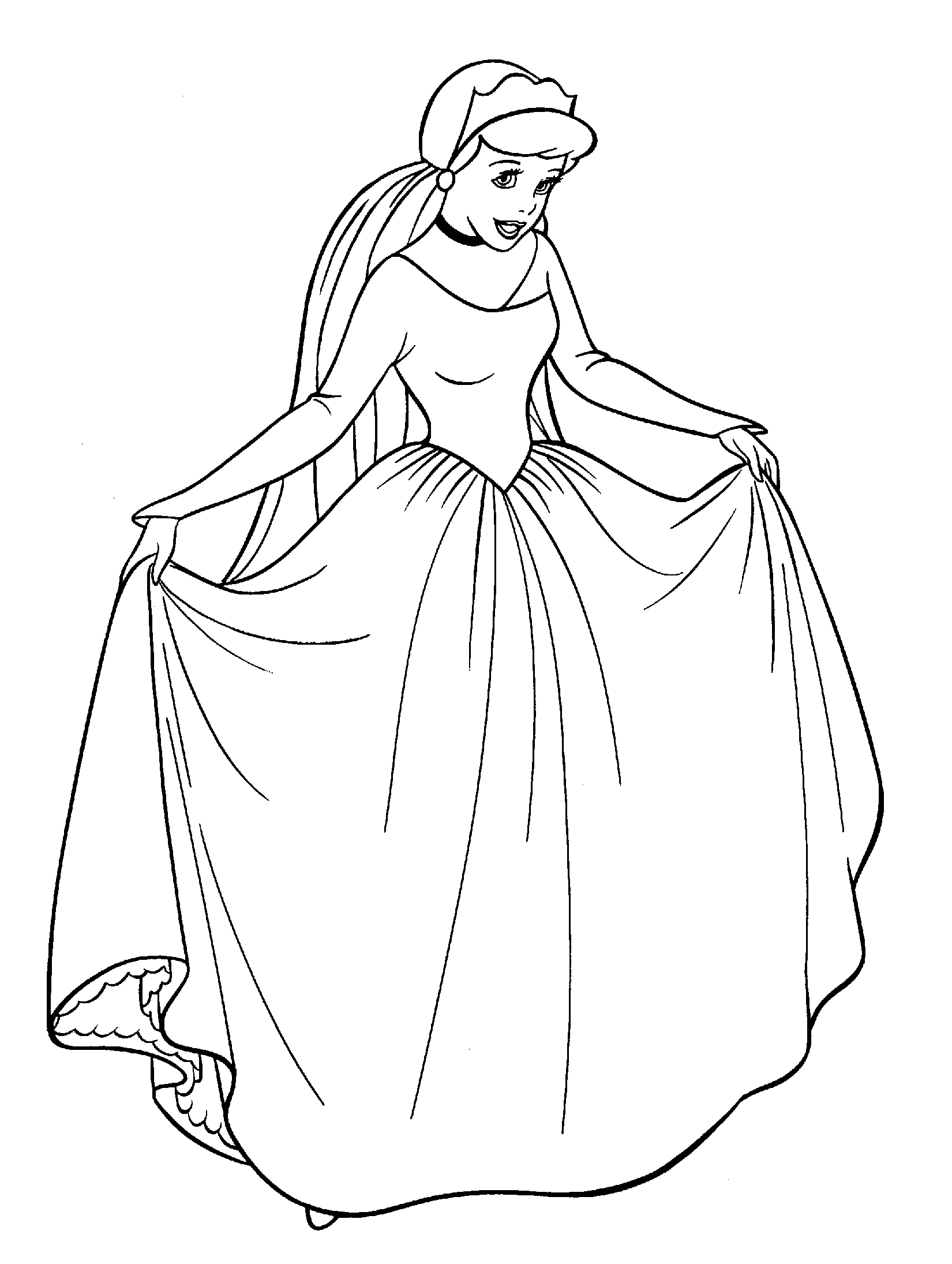 cinderella drawing for coloring how to draw cinderella step by step pictures cool2bkids for coloring cinderella drawing