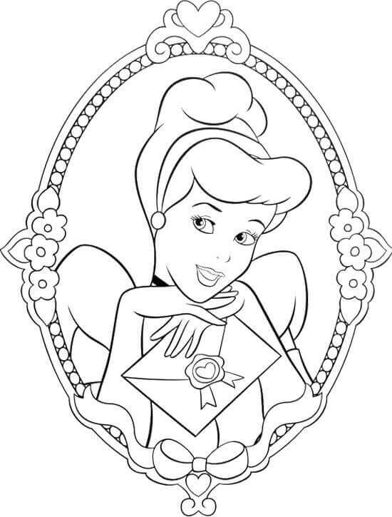 cinderella face coloring pages cinderella face coloring pages at getdrawings free download pages cinderella coloring face