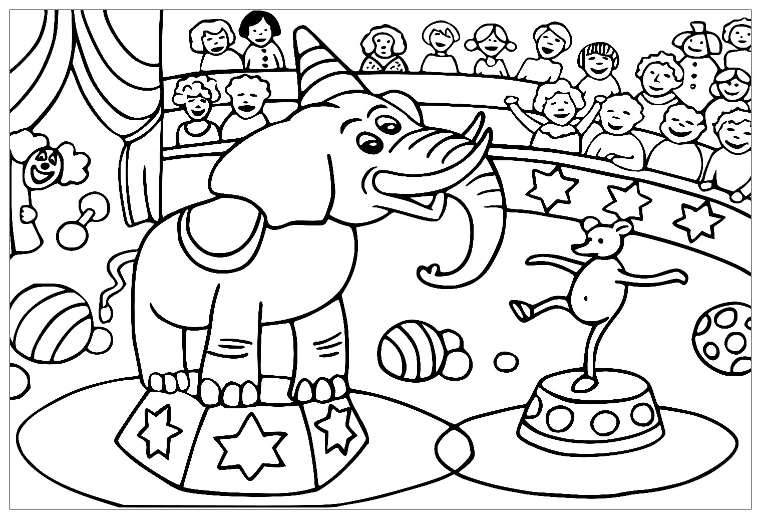 circus coloring pages for preschool 10 best for simple circus tent drawing creative things for coloring pages preschool circus